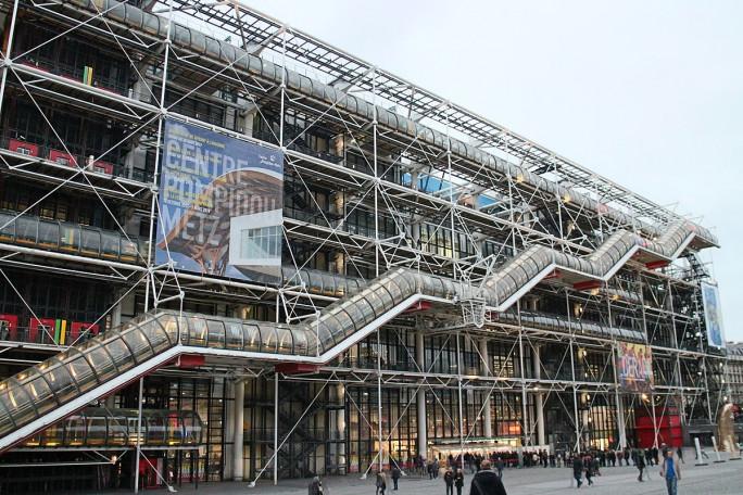 Paris : le centre Pompidou va fermer ses portes pour quatre ans